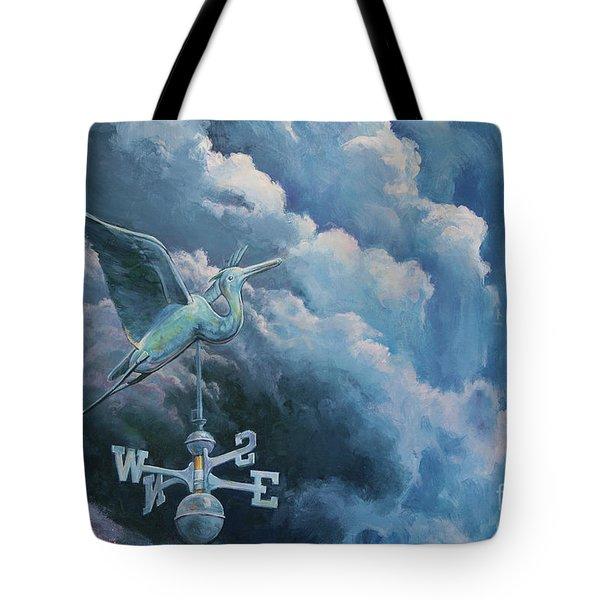 Bringing The Storm Tote Bag