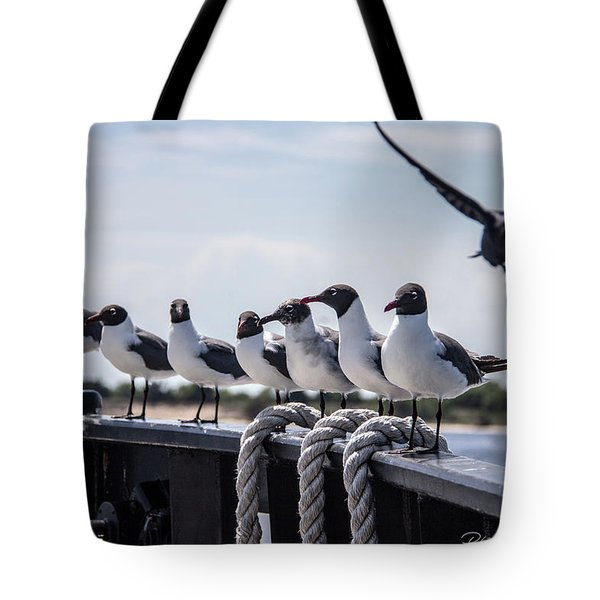 Bringing Up The Rear Tote Bag