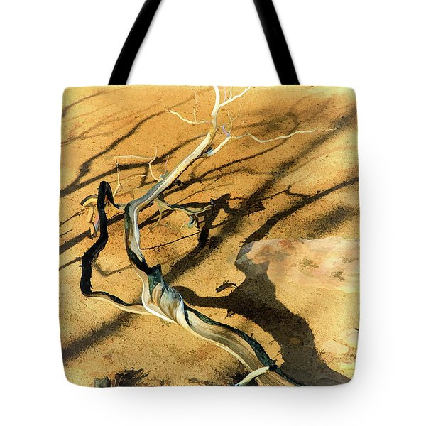 Brins Mesa 07-100 Burnt Tote Bag by Scott McAllister