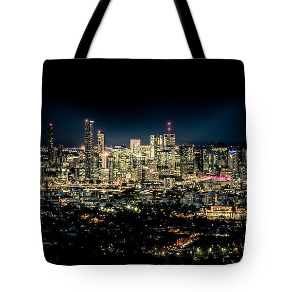 Brisbane Cityscape From Mount Cootha #7 Tote Bag by Stanislav Kaplunov