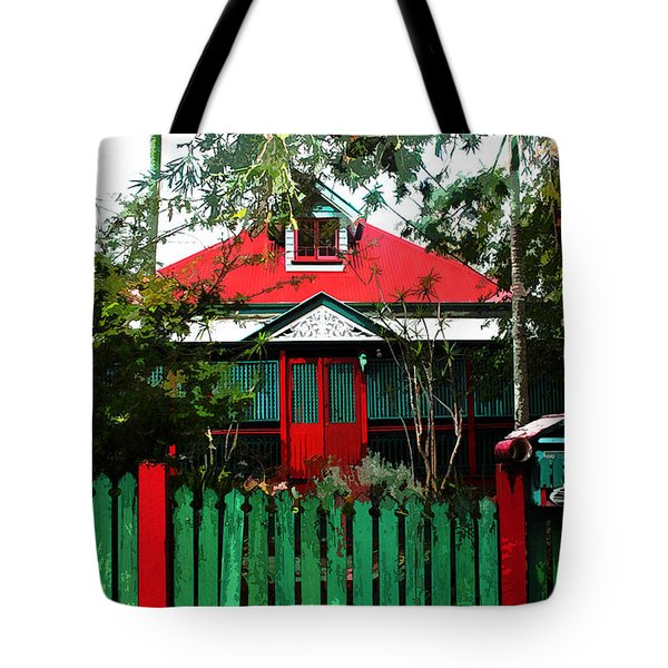 Brisbane Queenslander Tote Bag