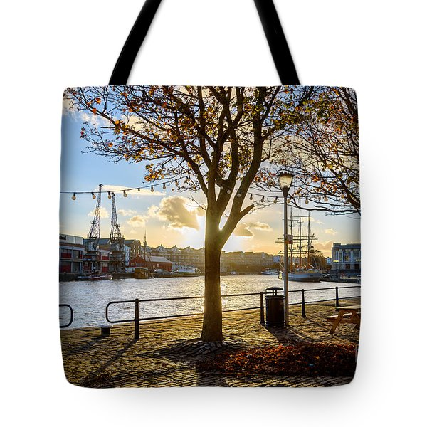 Bristol Harbour Tote Bag by Colin Rayner