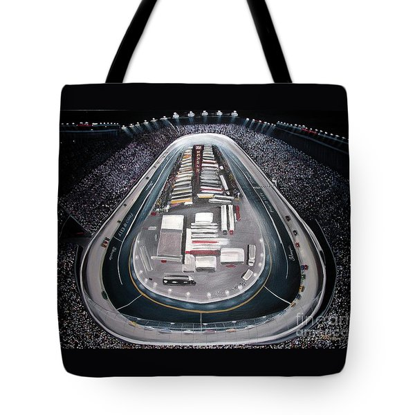 Bristol Motor Speedway Racing The Way It Ought To Be Tote Bag