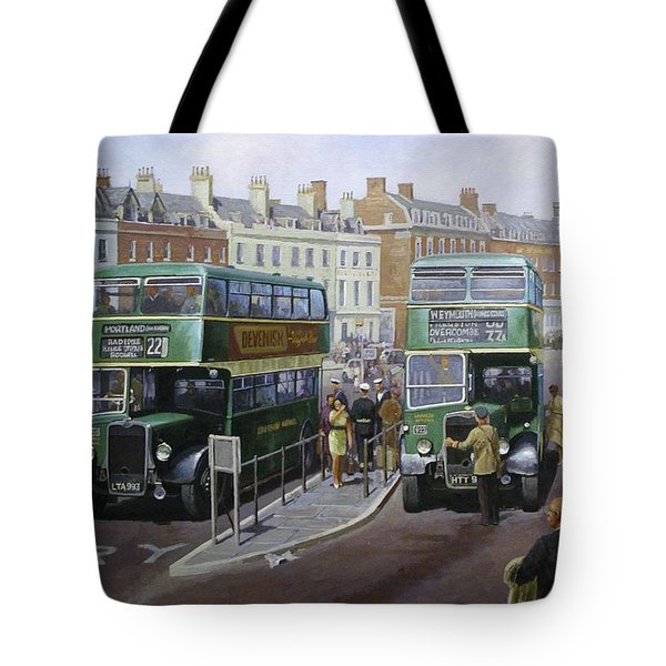 Bristols At Weymouth Tote Bag by Mike Jeffries