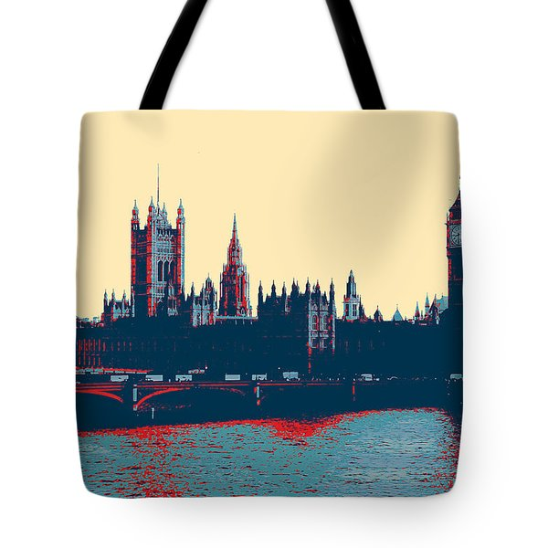 British Parliament Tote Bag