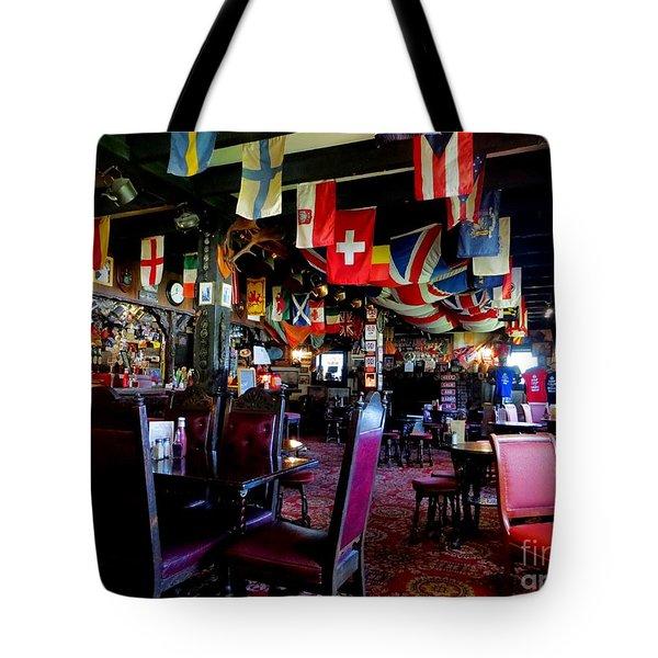British Pub Tote Bag by Tim Townsend
