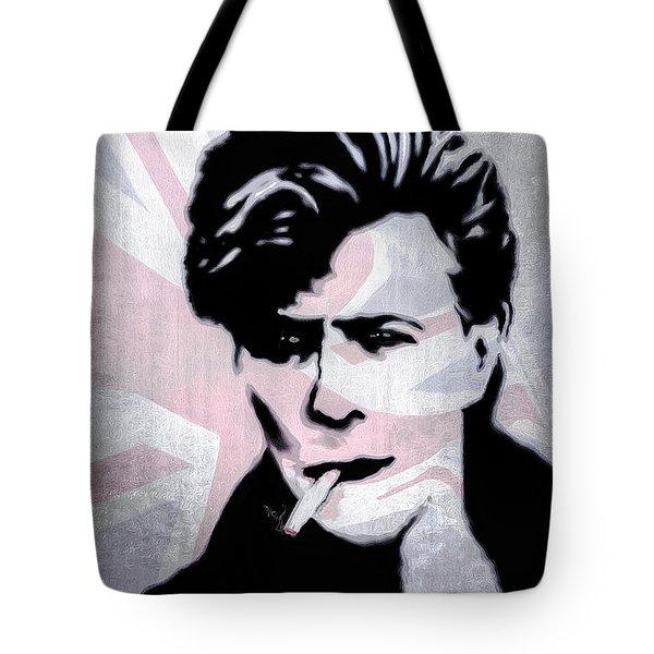 British Rock Tote Bag by Pennie  McCracken