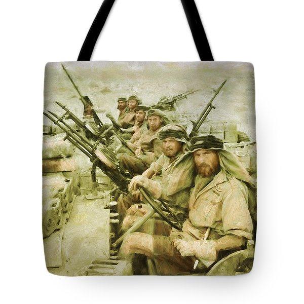 British Sas Tote Bag by Michael Cleere