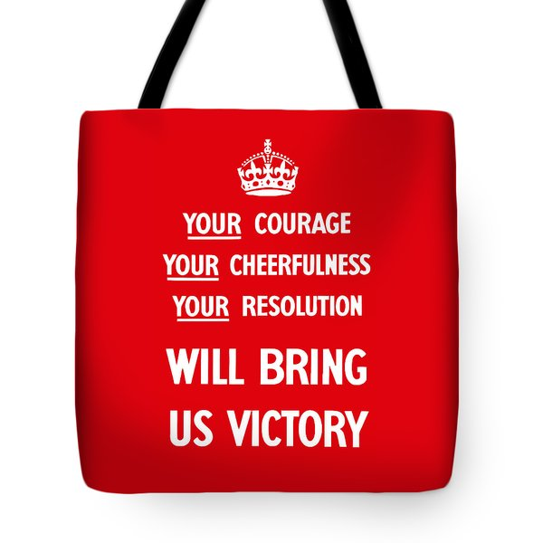 British Ww2 Propaganda Tote Bag