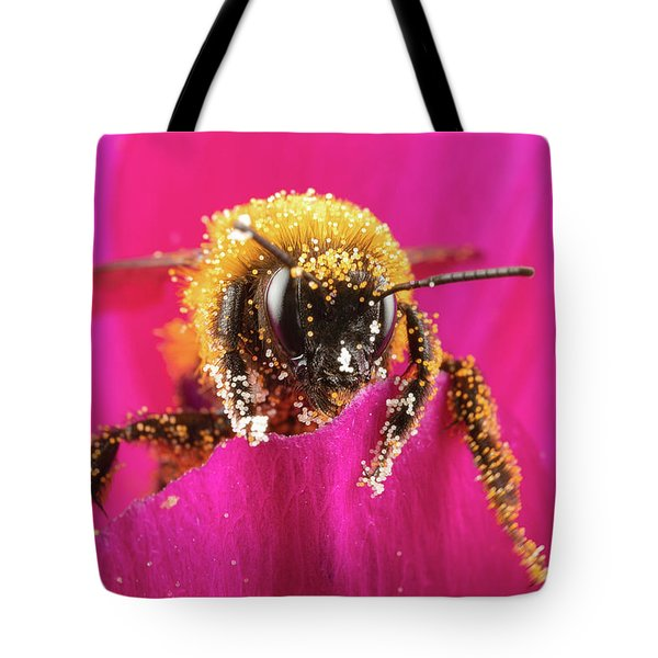 Tote Bag featuring the photograph Bro Got Any Pollen by Brian Hale