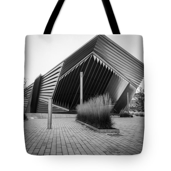 Tote Bag featuring the photograph Broad Art Museum by Larry Carr