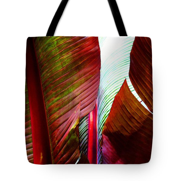Broad Leaves Tote Bag