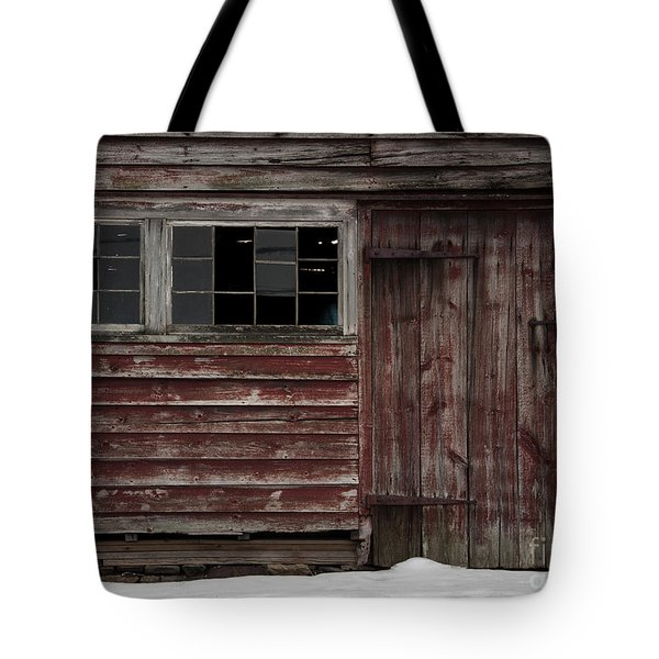 Broad Side Of A Barn Tote Bag