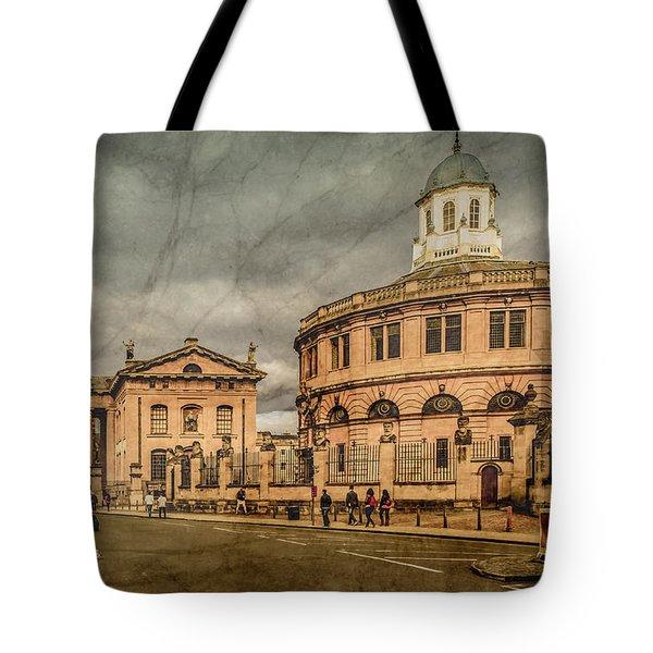 Oxford, England - Broad Street Tote Bag