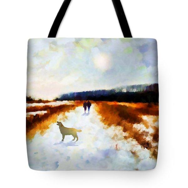 Broadland Walk Tote Bag by Valerie Anne Kelly
