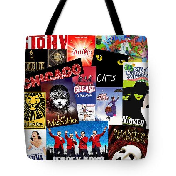 Broadway 8 Tote Bag