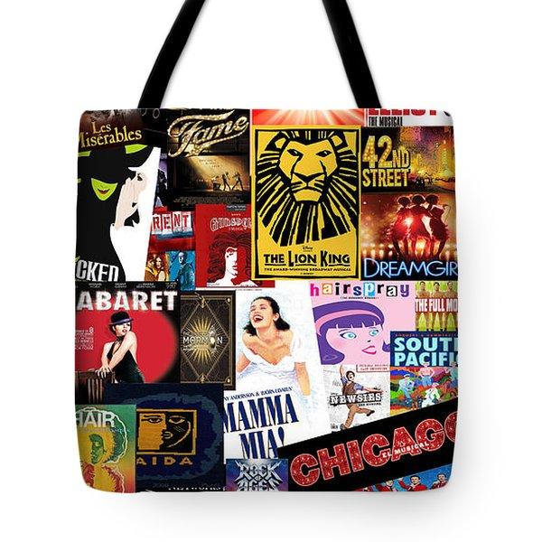 Broadway 9 Tote Bag