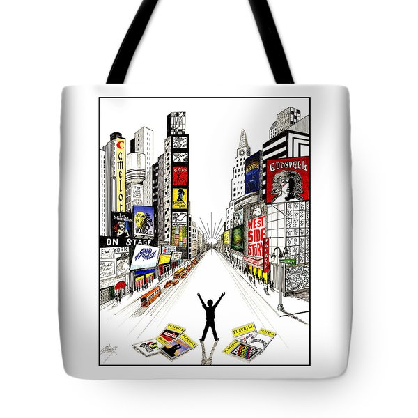 Broadway Dreamin' Tote Bag