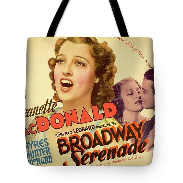 Broadway Serenade 1939 Tote Bag