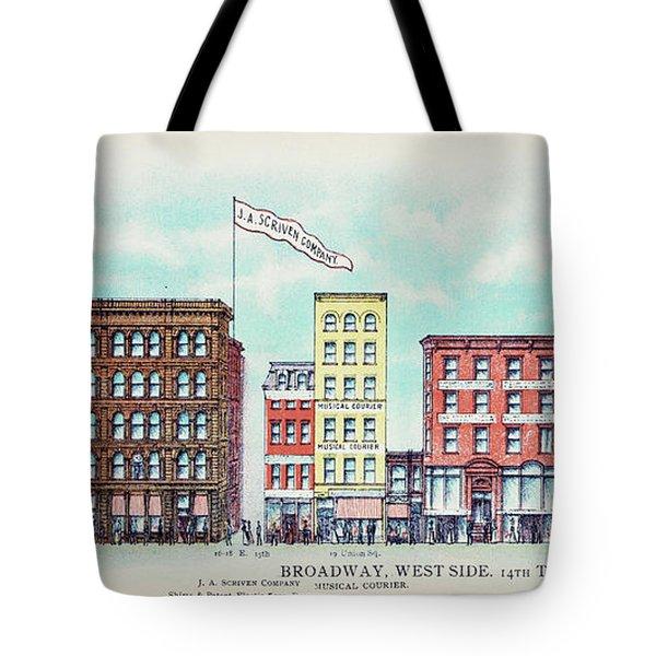 Broadway West Side Tote Bag