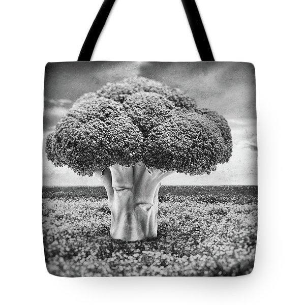 Broccoli Tree Tote Bag by Wim Lanclus