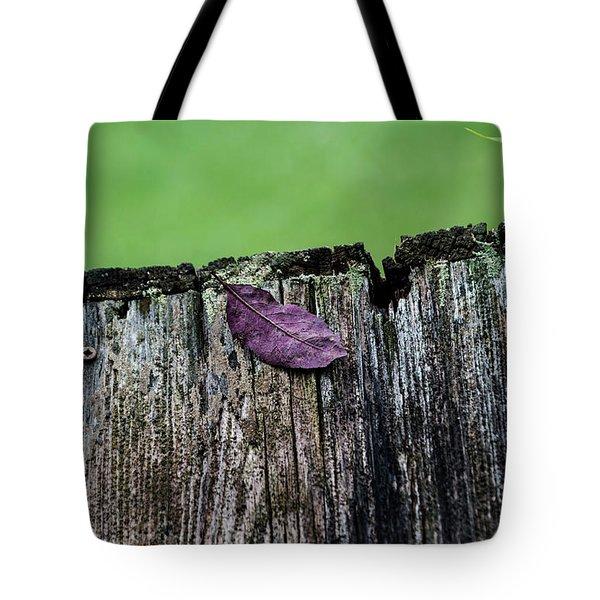Brock's Leaf Tote Bag