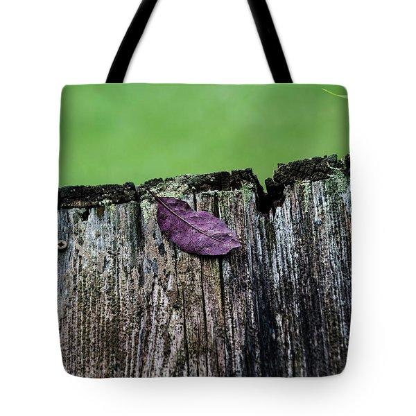 Brock's Leaf Tote Bag