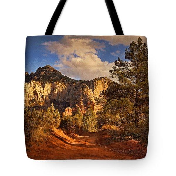 Broken Arrow Trail Pnt Tote Bag