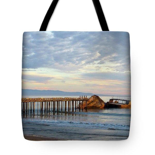 Broken Boat, Ss Palo Alto Tote Bag