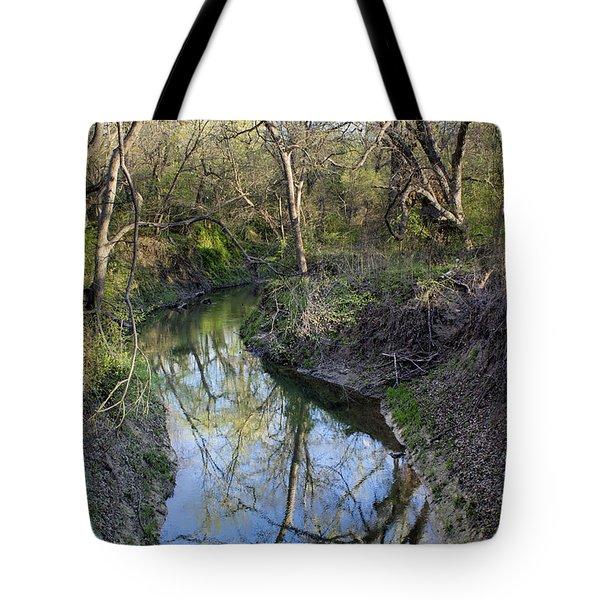 Broken Branch Creek Tote Bag