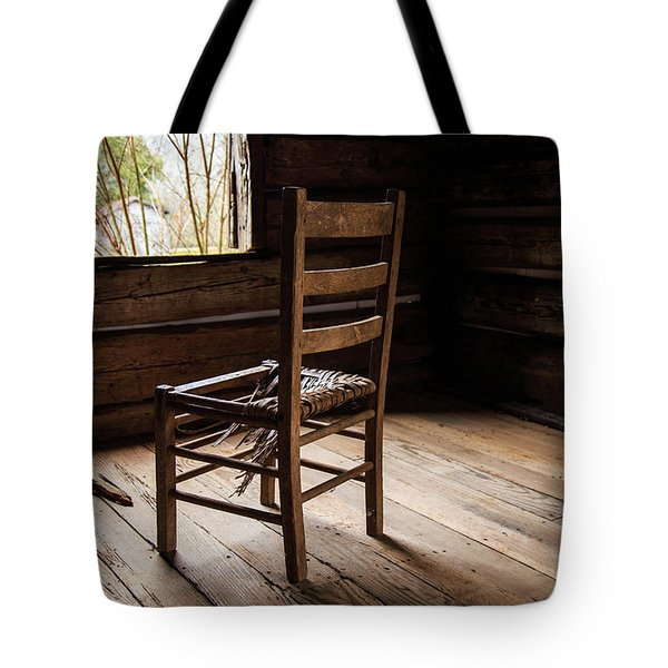 Tote Bag featuring the photograph Broken Chair by Doug Camara