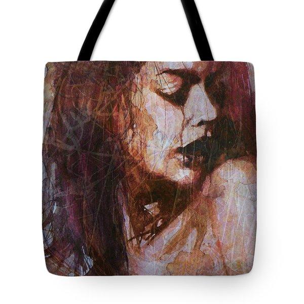 Broken Down Angel Tote Bag