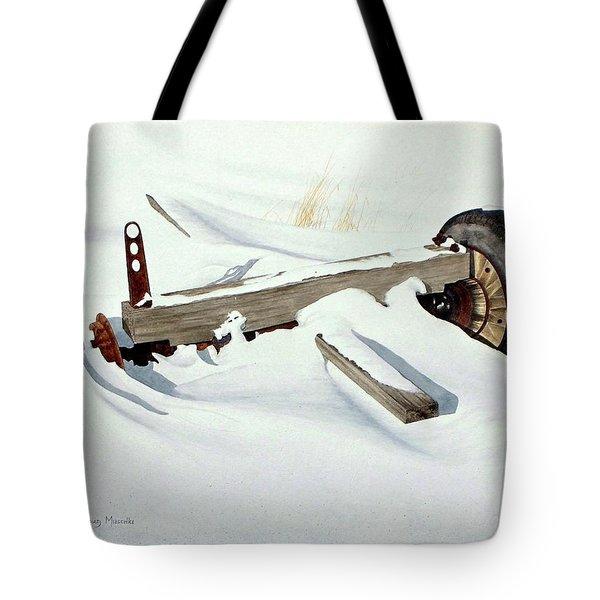 Broken Dreams Tote Bag by Conrad Mieschke