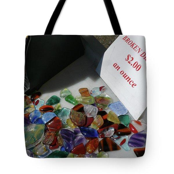 Broken Dreams For Sale Tote Bag