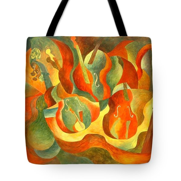 Broken Fiddle Tote Bag