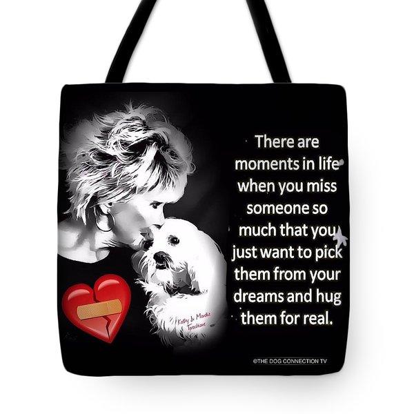 Tote Bag featuring the digital art Broken Heart by Kathy Tarochione