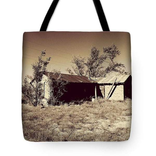 Broken Homestead Tote Bag