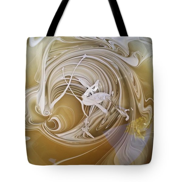 Broken Neck Flamingo Tote Bag