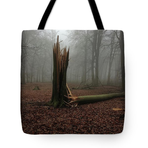 Broken Oak Tote Bag