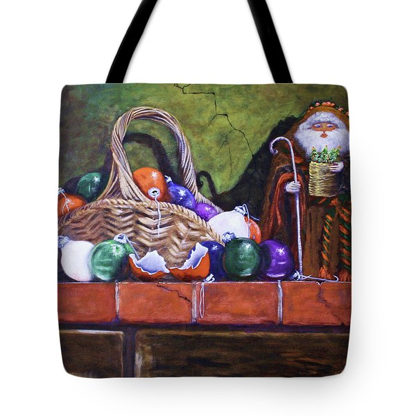 Broken Ornaments Tote Bag