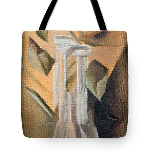 Broken Rose Tote Bag