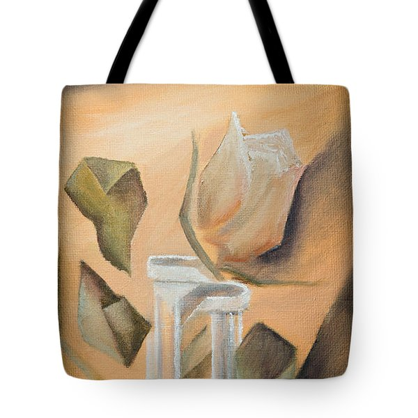 Broken Rose Tote Bag
