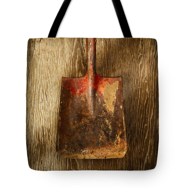 Tools On Wood 2 Tote Bag