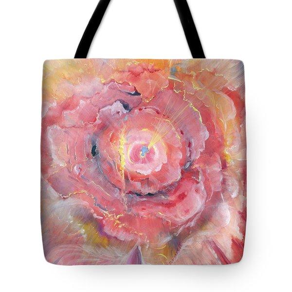 Broken Spirit Rose Tote Bag