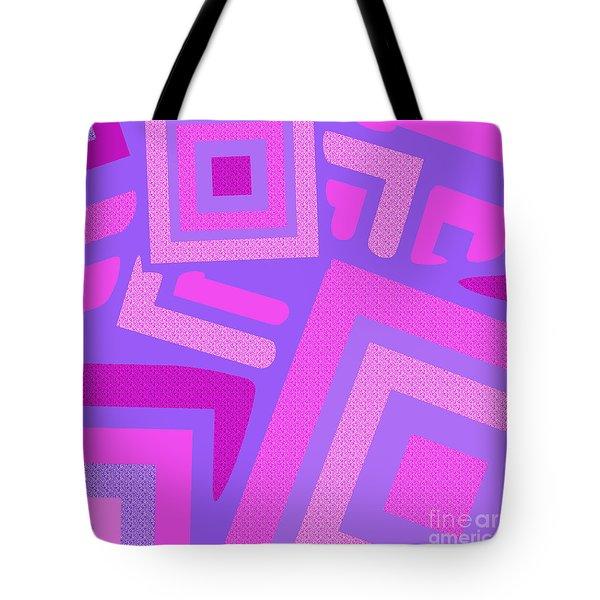 Broken Squares Tote Bag