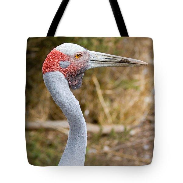 Brolga Profile Tote Bag