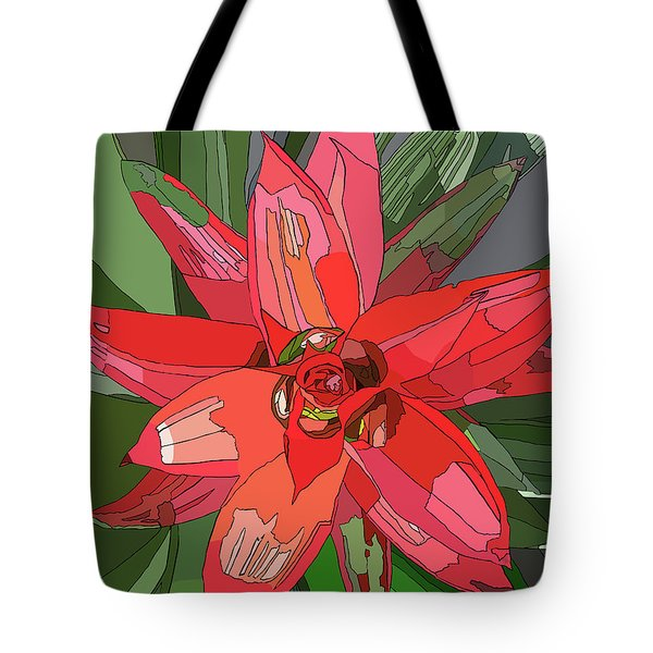 Bromiliad Tote Bag by Jamie Downs
