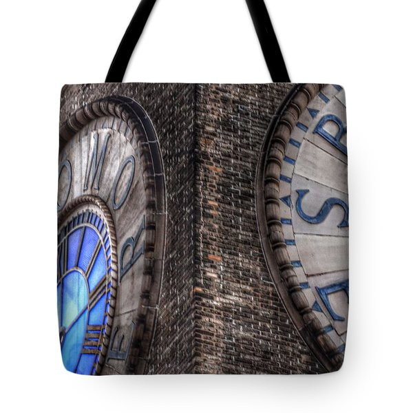 Bromo Seltzer Tower Clock Face #2 Tote Bag