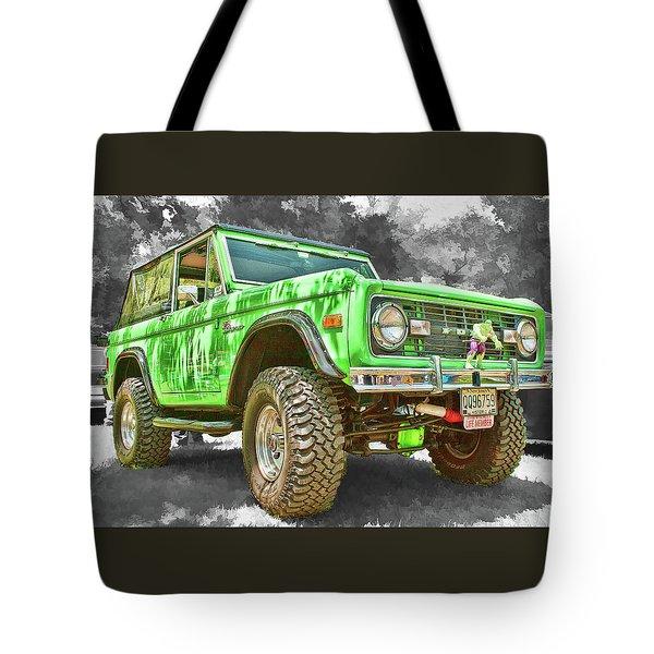 Bronco 1 Tote Bag