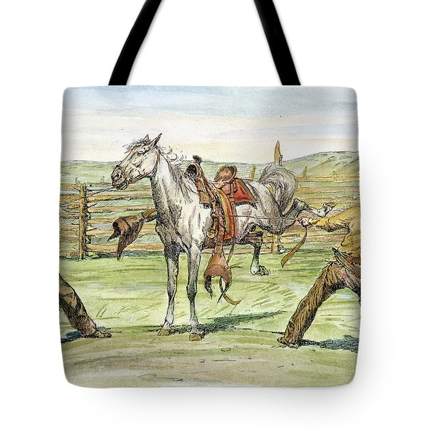 Bronco Busters Tote Bag by Granger